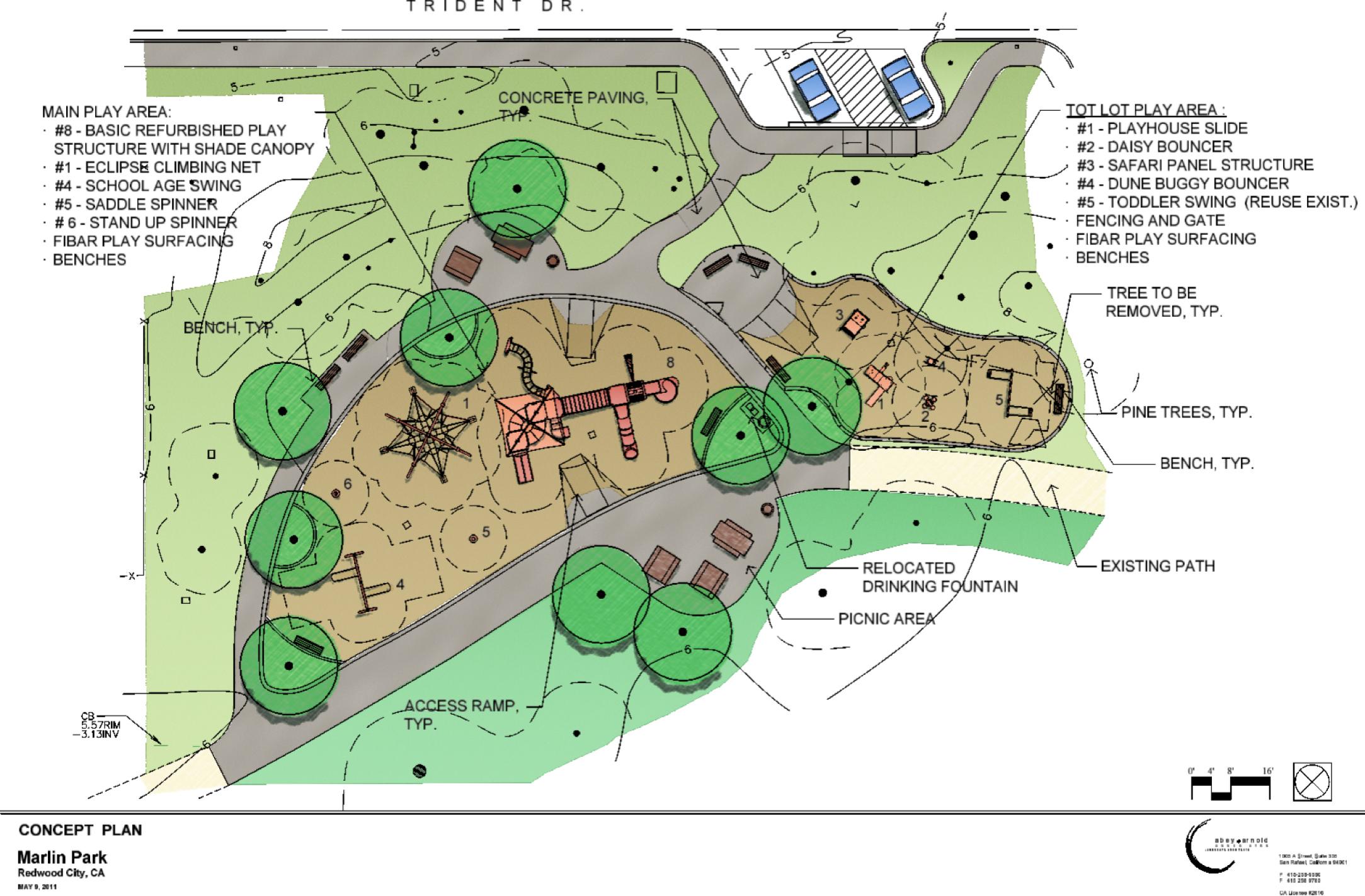 Marlin park playground renovation plans are underway for Playground blueprints