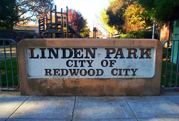 linden old sign